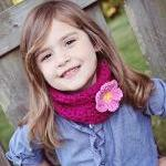 Little Girls - Crochet Cowl - Neckw..